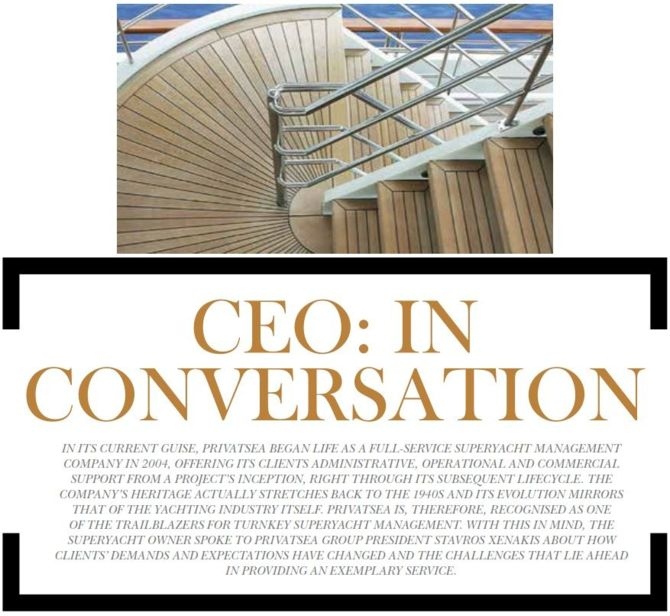 Privatsea President Interview Page 1